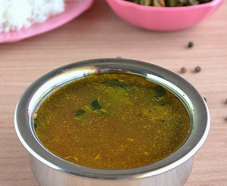Milagu Rasam Recipe – Pepper Rasam | Quick South Indian Rasam Recipes