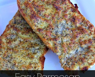 Improv: Easy Parmesan Herb Garlic Bread