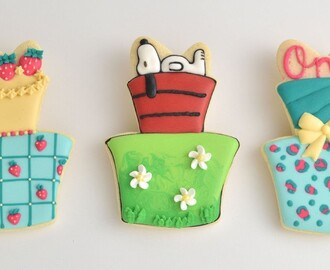 SNOOPY, STRAWBERRY SHORTCAKE, BIRTHDAY CAKE COOKIES and Your Favorite is?