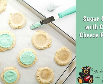 How to Make Sugar Cookies with Cream Cheese Frosting