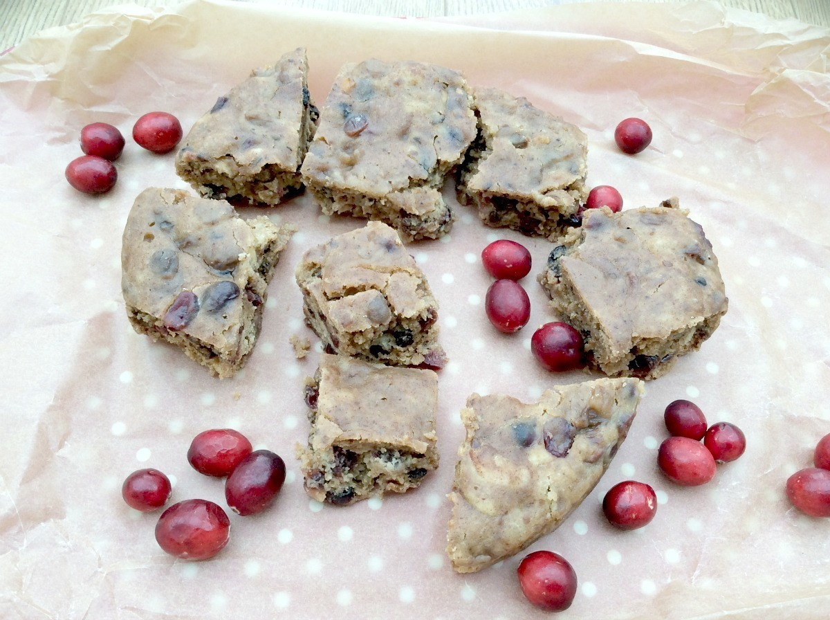Slow Cooker Cranberry and Ginger Tea Loaf Cake