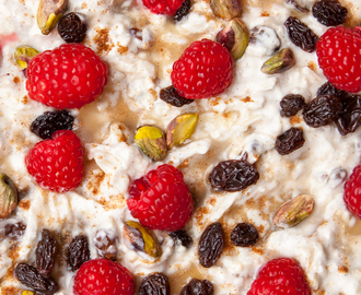 Easy overnight breakfast bircher