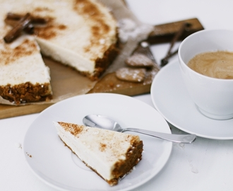 RECIPE: GINGERBREAD CHEESECAKE