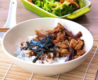 Teriyaki Chicken & Shiitake Mushrooms