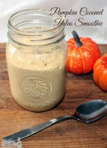 Pumpkin Coconut Paleo Smoothie Recipe