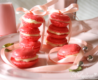 {Sweet} Macarons en rose