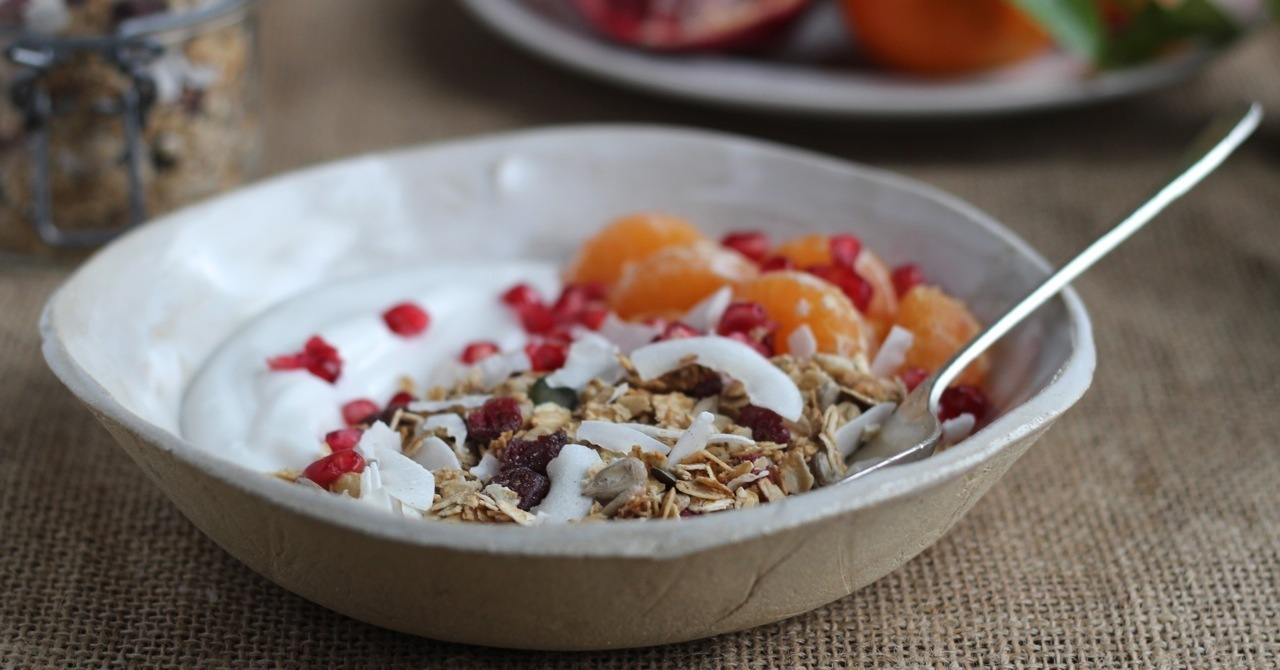 Low Sugar Oat Granola