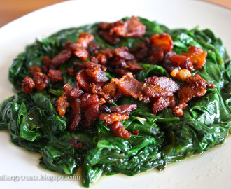 Gluten Free Bacon Spinach