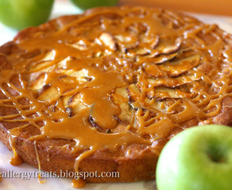 Gluten Free Caramel Apple Pie Cake