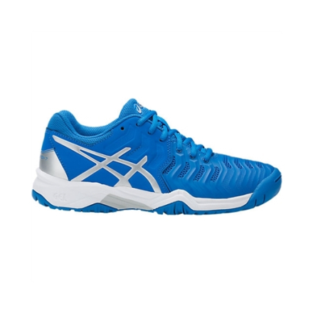 Asics Gel-Resolution 7 GS Directoire Blue/Silver/White Size 35.5 35.5