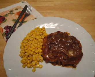 Pork Chops in Onion Gravy