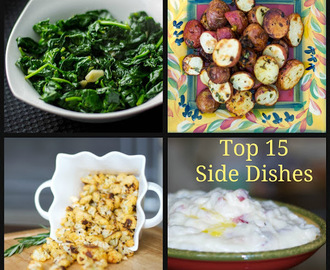 Top 15 Side Dishes
