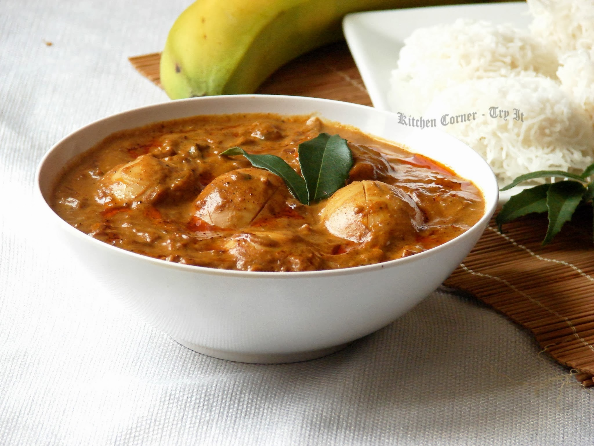 Egg Curry/Nadan Mutta Curry