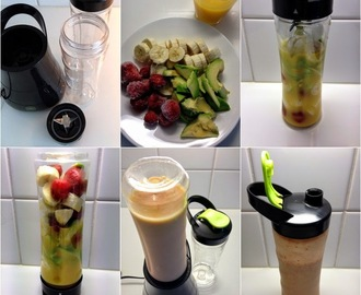 Smoothie Twister & Avocado Sunrise