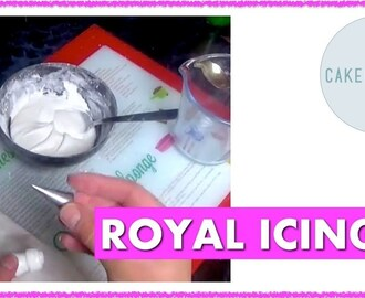 Making Royal Icing for Writing: Get it Right the First Time (and no mixer needed)