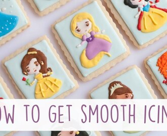 How to Get to Smooth Icing!  Icing Consistency