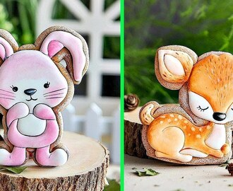 Yummy Cookies | Top 5 Easy Cookies Decorating Ideas Animals 2018