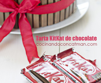 Tarta kit kat de chocolate y nutella – vídeo receta