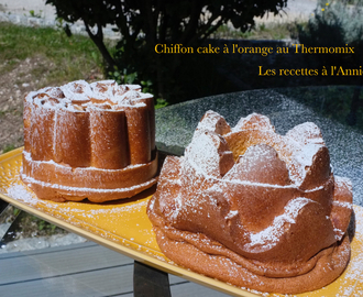 Chiffon cake orange*au Thermomix