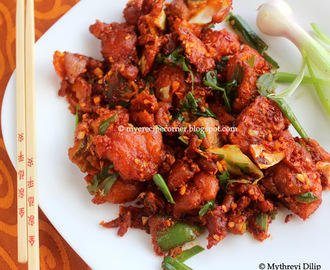Crispy Chilli Vegetable Recipe
