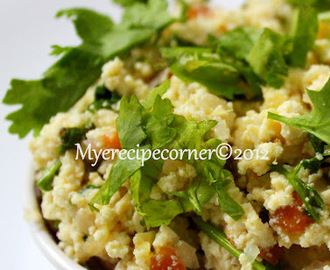 Paneer Bhurji/ Paneer Recipes