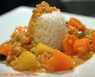 Curry indisch, vegan