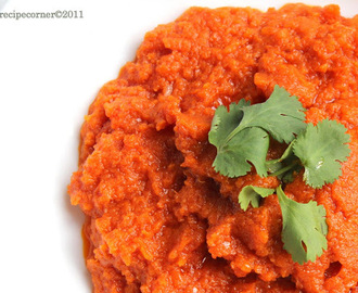 Tomato Chutney/ Thakkali Chutney for Idli, Dosa and Rice