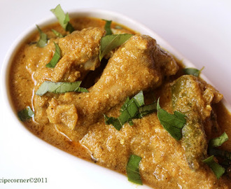 Nilgiri Chicken Korma.