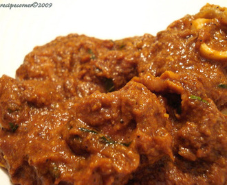 Chettinad Mutton Masala( Chettinad Lamb Curry)