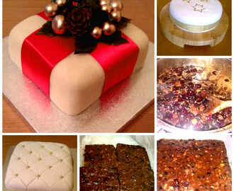 Luxury Fruit Christmas Cake (includes Thermomix method)