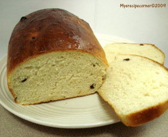 Raisins Bread Loaf