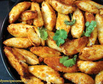 Fried Idli( Healthy Oven Baked Idli).