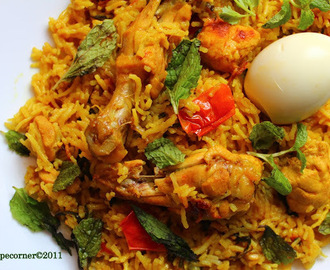 Muslim's Chicken Biryani- Fail-Safe Recipe