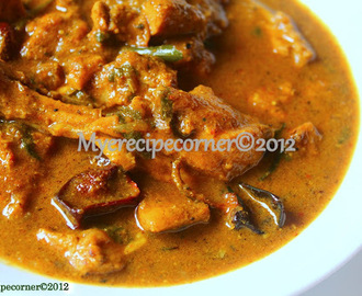 Goda Masala Chicken Curry- Maharashtrian Special