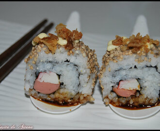 Sushi Uramaki Hot Dog