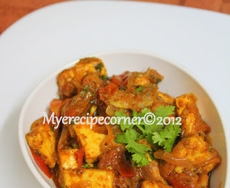 Spicy Paneer Masala Recipe
