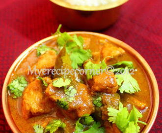 Andhra Chicken Curry/ Kodi Kura