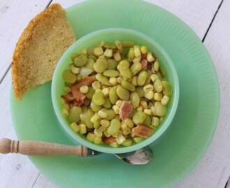 """Sufferin' Succotash""(Recipe: Succotash)"