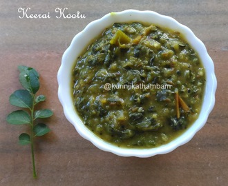 Keerai – Greens Kootu without Coconut