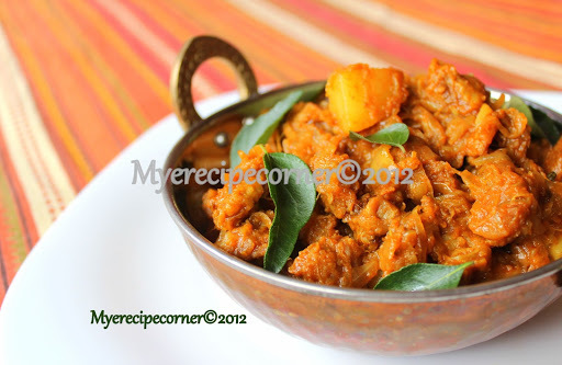 Mutton Potato Fry