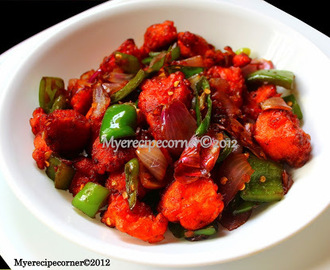 Andhra Chicken 65 - Hot and Spicy