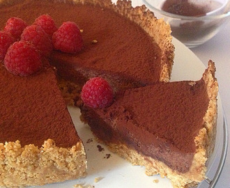 no-bake chocolate truffle tart crunch.