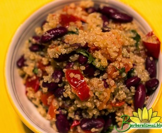 Quinoa Light com Feijão