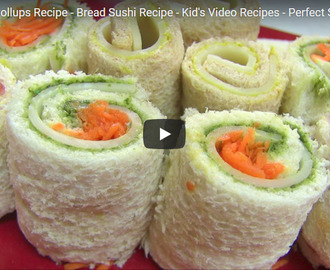 Sandwich Rollups Recipe Video