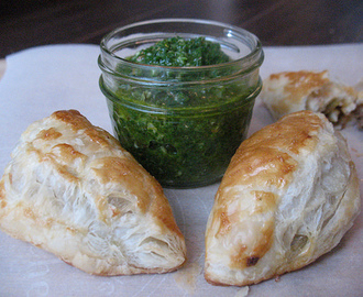 Spicy Beef Empanadas and Chimichurri