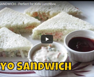 Veg Mayo Sandwich Recipe Video