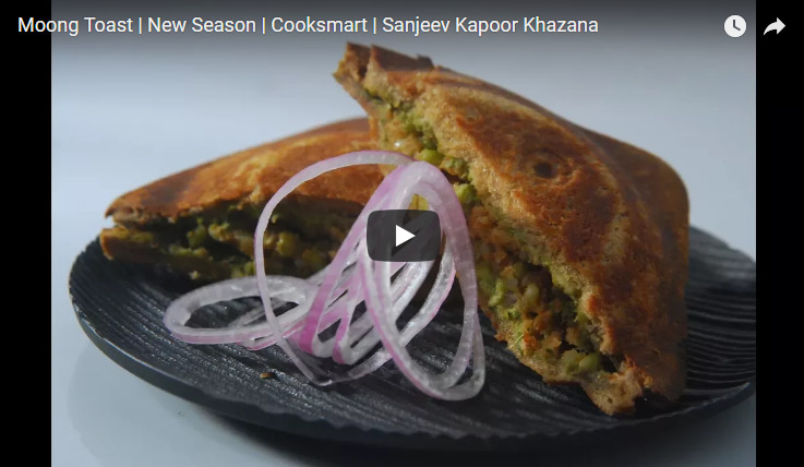 Moong Toast Recipe Video