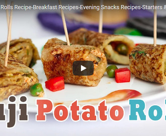 Suji Potato Rolls Recipe Video
