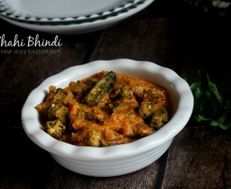 Shahi Bhindi  (Royal Style Okra Curry)