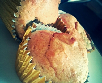 Low Fat Banana & Coconut Muffins